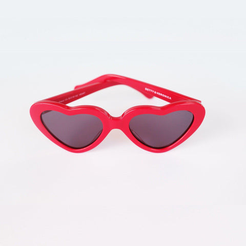 Betty and Veronica Cheryl Sunnies by A Fashion Nerd - Red - sunglasses - Betty and Veronica - Roses N Retro