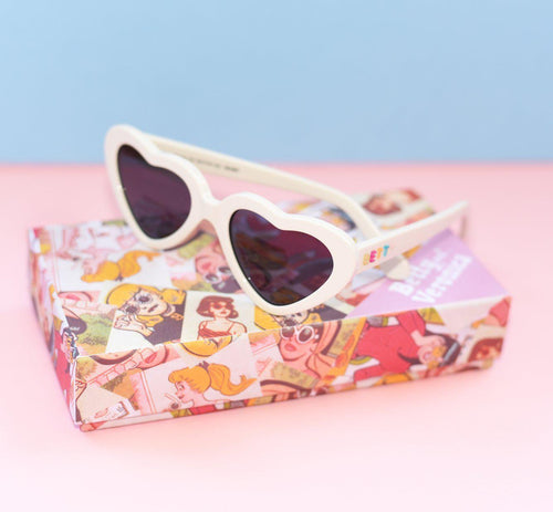 Betty and Veronica Cheryl Sunnies by A Fashion Nerd - White - sunglasses - Betty and Veronica - Roses N Retro