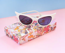 Betty and Veronica Sabrina Sunnies by A Fashion Nerd - Vintage White - cat-eye sunglasses - Betty and Veronica - Roses N Retro