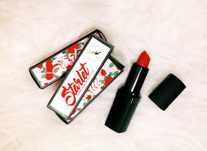 Starlet Red Matte Lipstick - Margarita Bloom Cruelty-free Natural Beauty Products - lipstick - Margarita Bloom - Roses N Retro