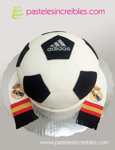 Pastel del Real Madrid