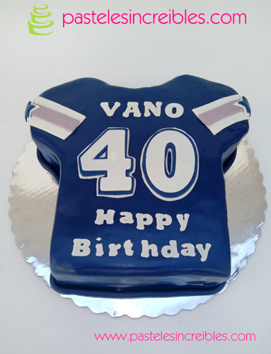 Pastel de Jersey de Dallas Cowboys