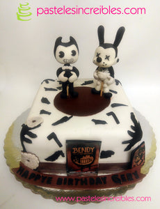 Pastel de Bendy and the Ink Machine
