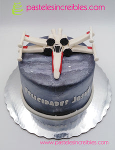 Pastel de Star Wars X Wing