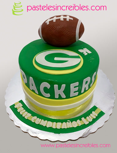 Pastel de los Green Bay Packers