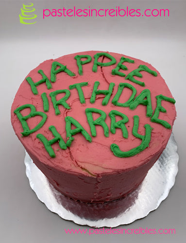 Pastel de HBD Harry Potter
