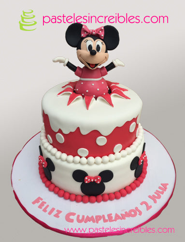 Pastel de Minnie Mouse