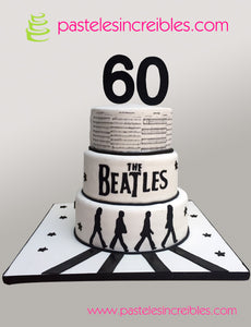 Pastel de The Beatles Abbey Road