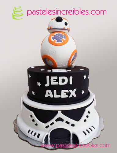 Pastel de BB8 Star Wars