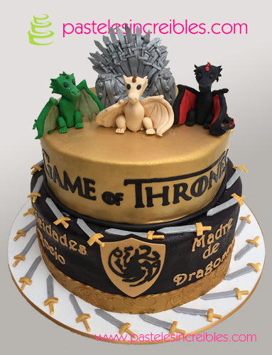 Pastel de Game of Thrones