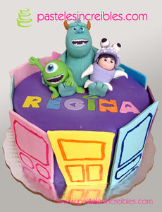 Pastel de Monsters Inc