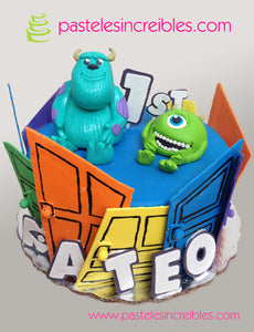 Pastel de Monsters Inc.