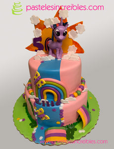 Pastel de My Little Pony