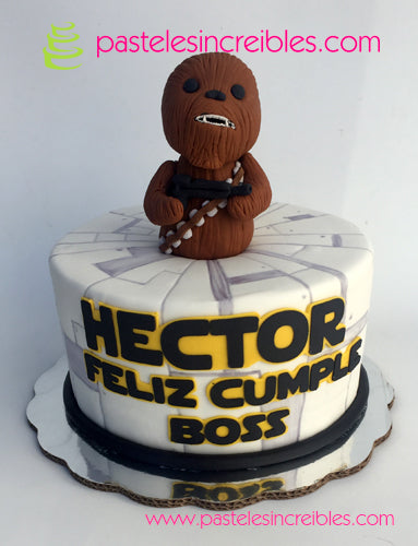 Pastel de Star Wars Chewbacca