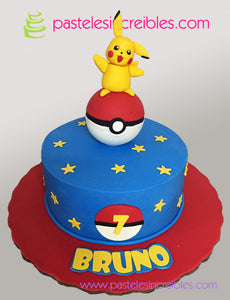 Pastel de Pokemon