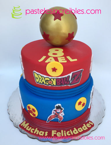 Pastel de Dragon Ball Z