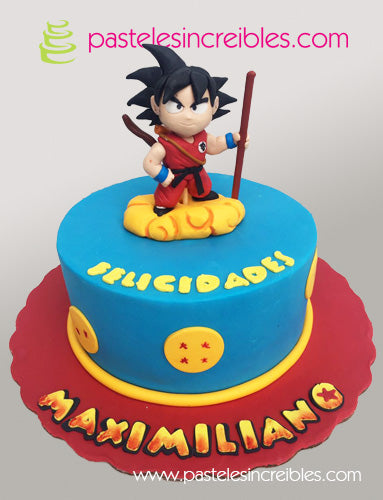 Pastel de Dragon Ball
