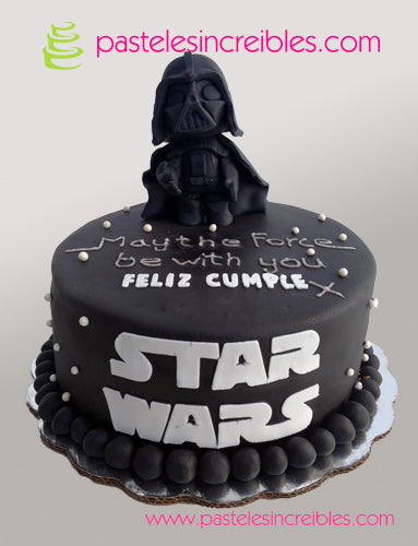 Pastel de Star Wars Darth Vader