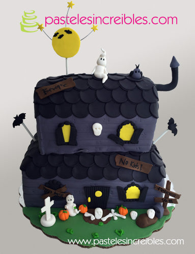 Pastel de Haunted House