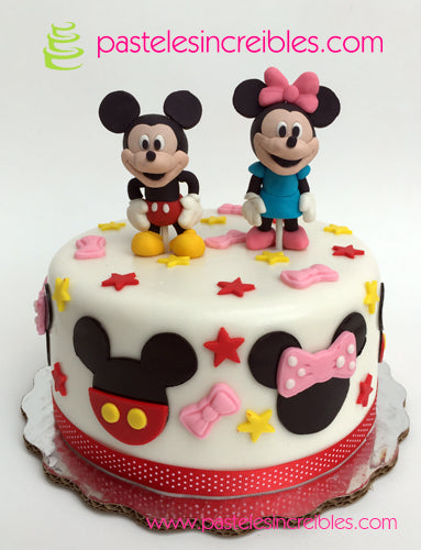 Pastel de Mickey y Minnie