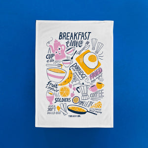 Breakfast Time Tea Towel