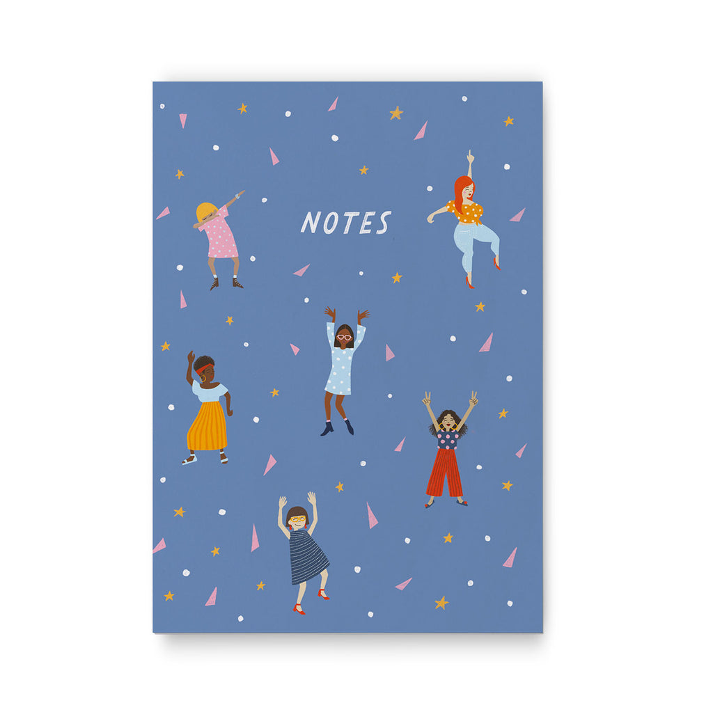 A5 Dance Notebook