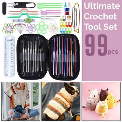 Ultimate Crochet Tool Set (99pcs)