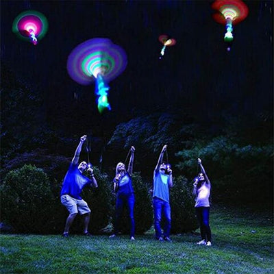 LED Helicopter Shooters (10-Pack)