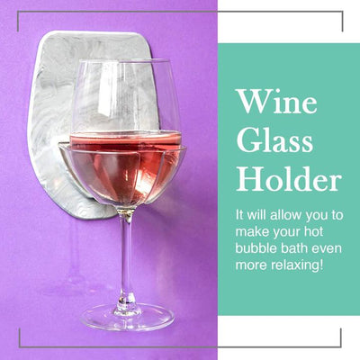 Wine Glass Holder For Bath
