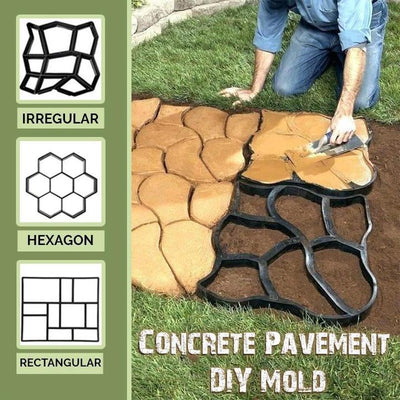 Concrete Pavement DIY Mold