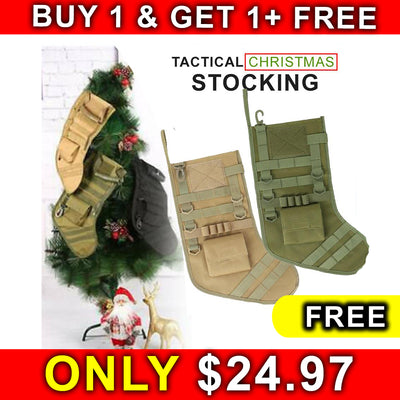 OFFER 2x1 Tactical Christmas Stocking