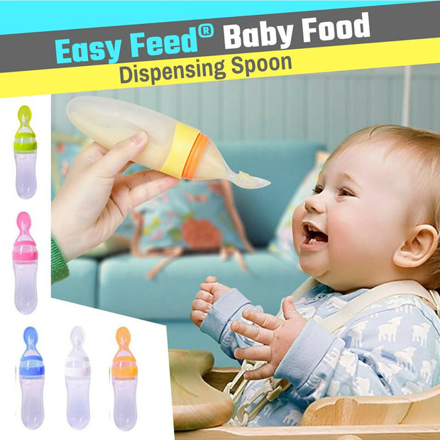 New Baby Bottle With Spoon