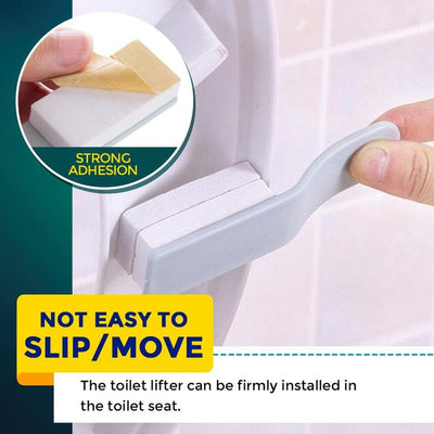 Sanitary Toilet Seat Cover Lifter
