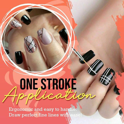 Extra Long One Stroke Perfect Line Nail Art Pen (3pcs/Set)