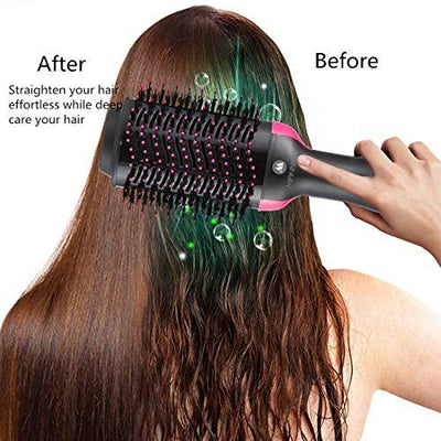 Multifunctional Hair Dryer Straight Hair Curling Comb