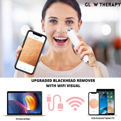 Blackhead & Pore Vacuum w/ Built-in Microscope