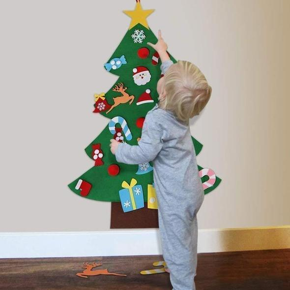 DIY Felt Christmas Tree(Best Gift For Children )