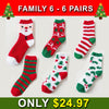 🎅 🎁  Winter Thick Warm Sleep Floor Socks- Family Christmas