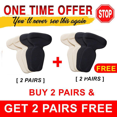 Soft Pain Reliever Heel Cushion 2 x 1  (Buy 2 pairs & Get 2+ Pairs Free)