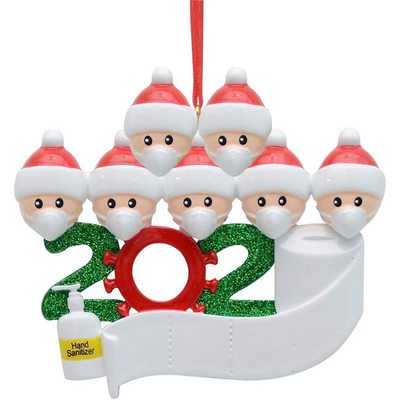 2020 Cute Ornament Gift - Write Names on them!!!