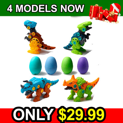 🎁🎅 OFFER DIY assembled Dinosaur Toy