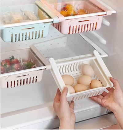 Refrigerator Partition Storage Rack