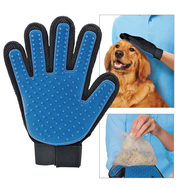 DOG, CAT, PET GROOMING GLOVE