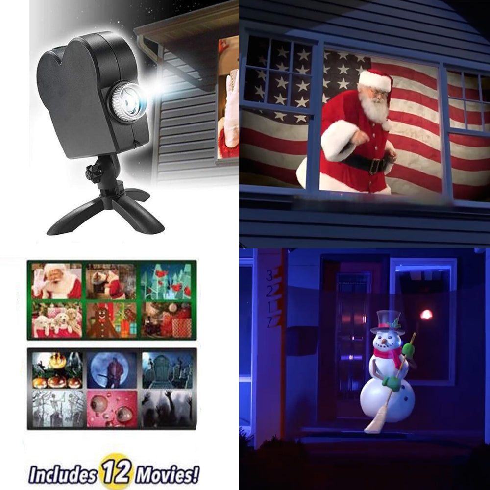 Holidays Pre-Sale 50% OFF - Holographic Projection!