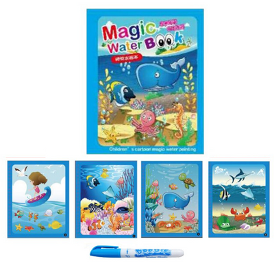 Magic Water Drawing Book