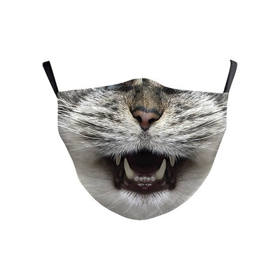 Kids Face Mask - Cat