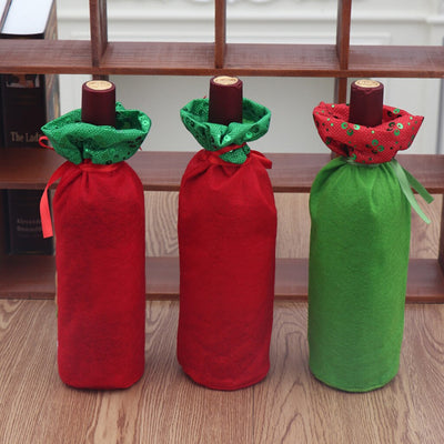 🎅 🎄  Christmas Red Wine Bottle Storage Bag