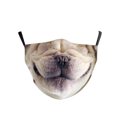 Kids Face Mask - Dog