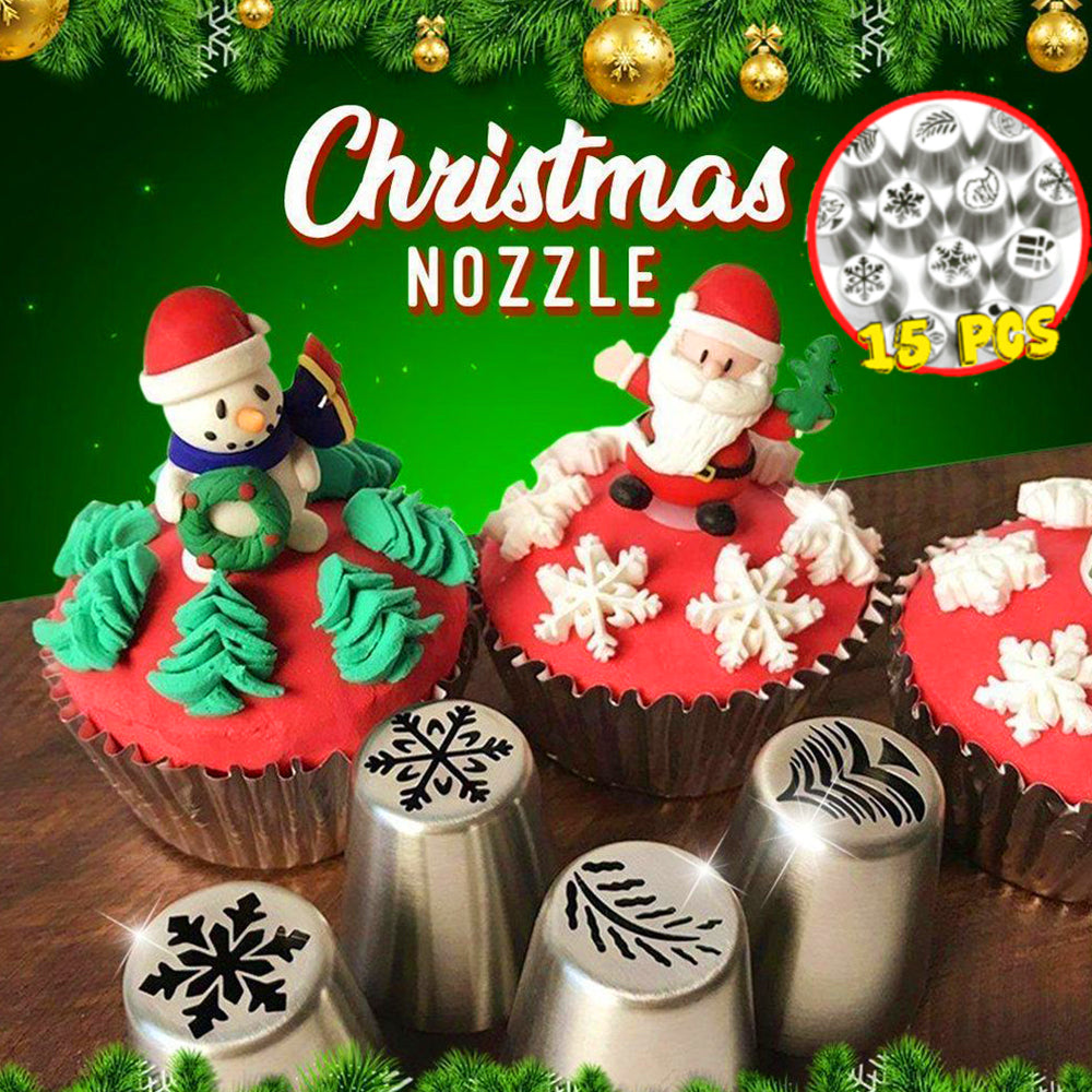 Christmas Pastry Nozzles