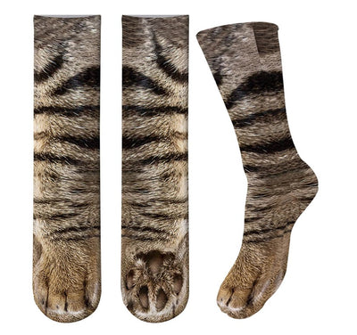 3D Cat Paw Breathable Sock Unisex